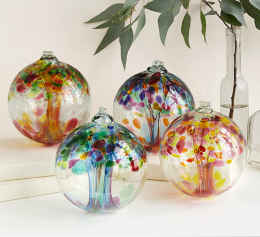 Colorful Glass Globes