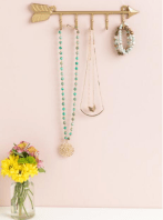 Gold Arrow Hook for your hanging essentials