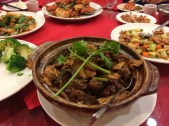 Best dish of the night: Lamb in Hot Pot