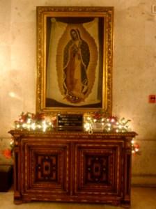 Virgen de Guadalupe (taken Nov 29, 2011 in Mexico) © The MEXICO Report