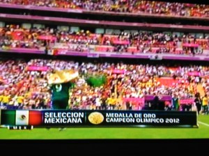 Mexico Takes Gold in Men's Soccer at 2012 London Olympics 2