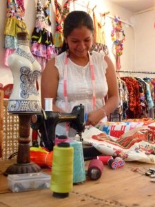 "Patrice Wynne, moved to Mexico and launched ""San Miguel Designs"", a company that employs local women in a fair trade environment."