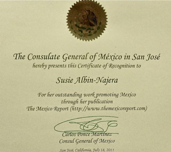 SAN award