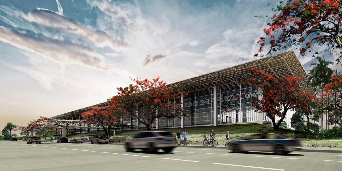 Αποτέλεσμα εικόνας για New Airport Terminal at Acapulco International Airport