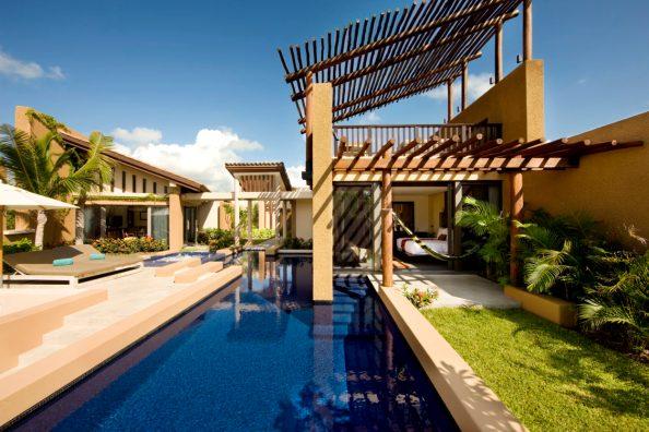 Villa Spa con piscina en Banyan Tree Mayakoba;  foto cortesía de Banyan Tree Mayakoba