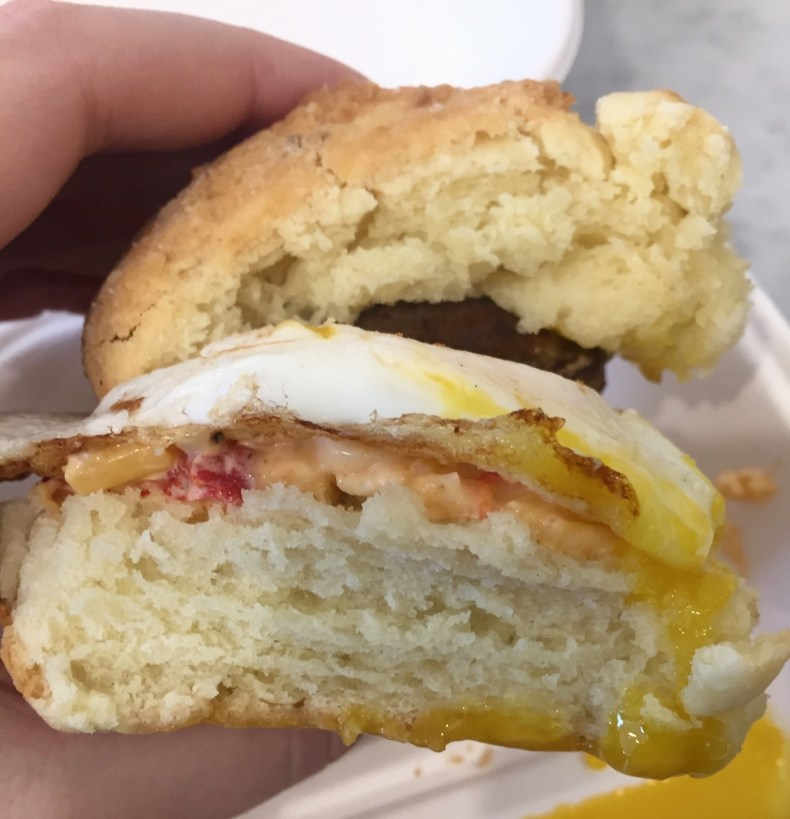 Callie's Hot Little Biscuit, Sausage, Egg, & Pimento Cheese Biscuit