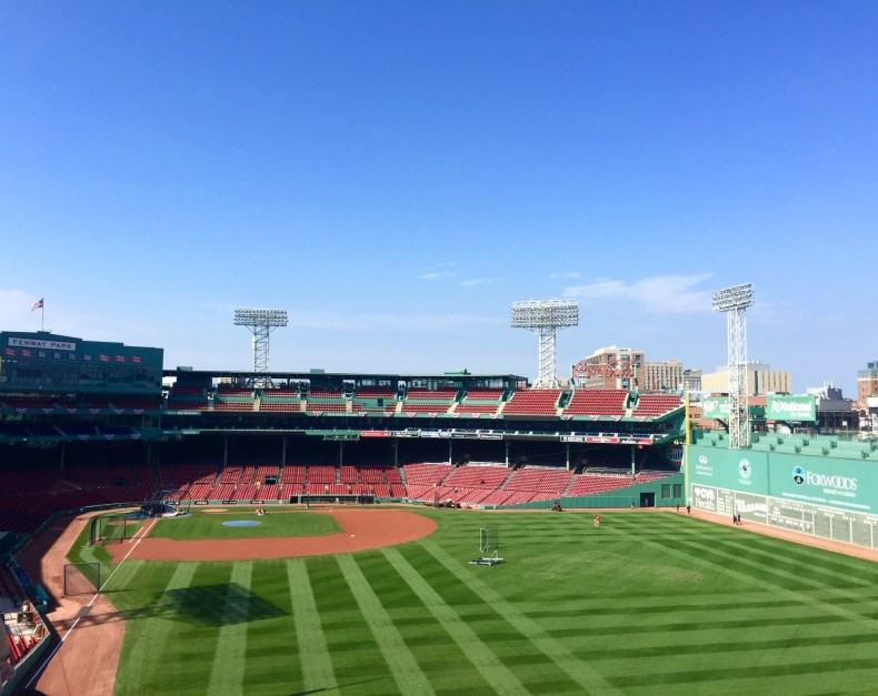 Fenway Park Tour, Boston
