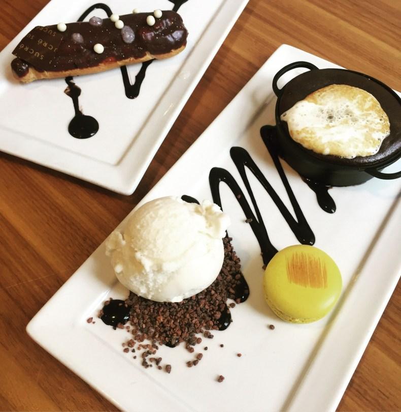 Desserts at Sucre, NOLA