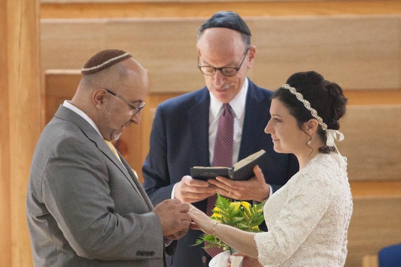 Matt Cutler and Jessica Katz,married by Rabbi Zemel onJune 26, 2016, at Temple Micah