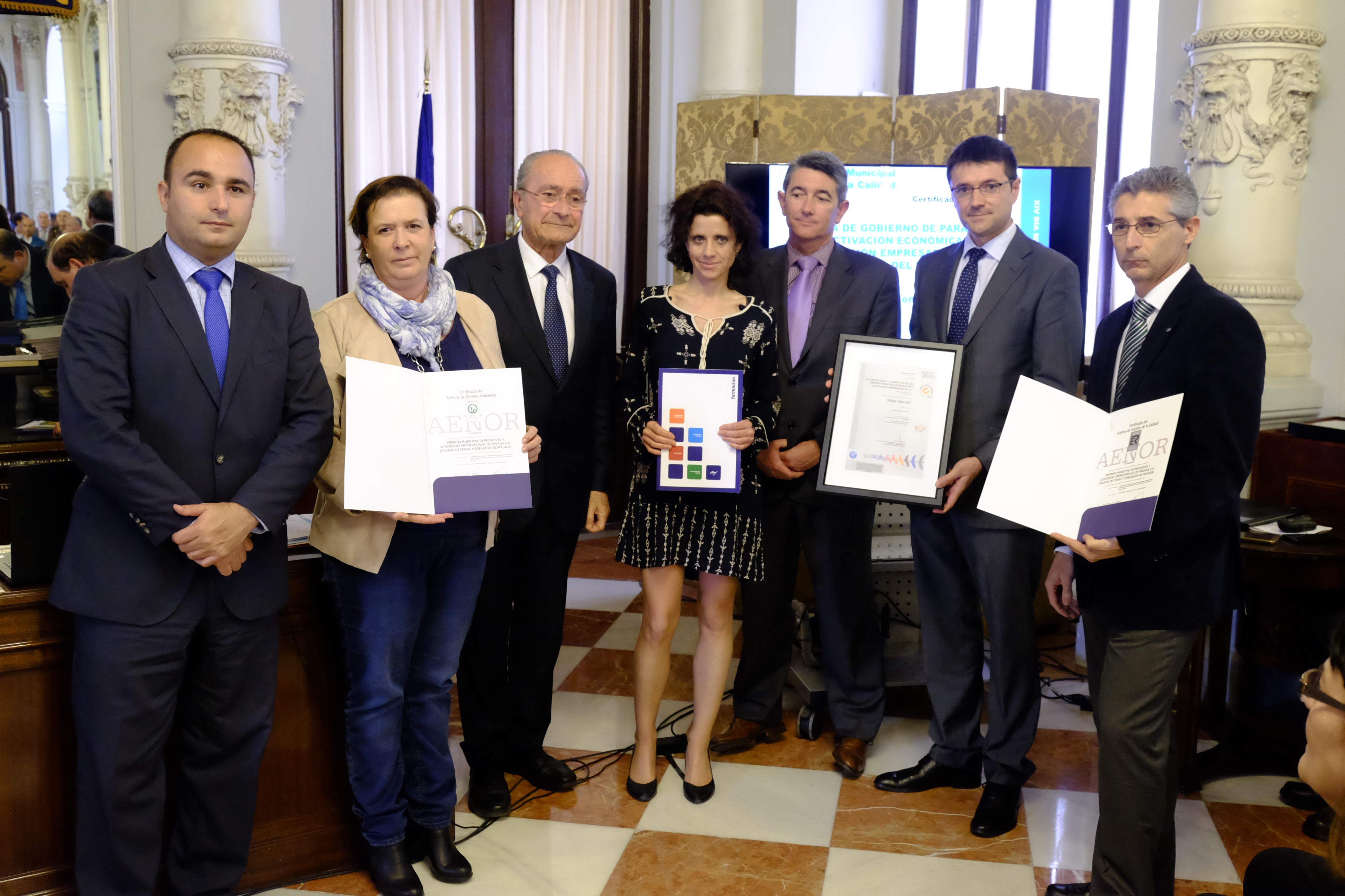 FYCMA, premiada por el Ayuntamiento de Málaga