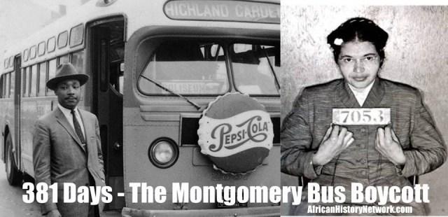 381 Days Montgomery Bus Boycott Tagged