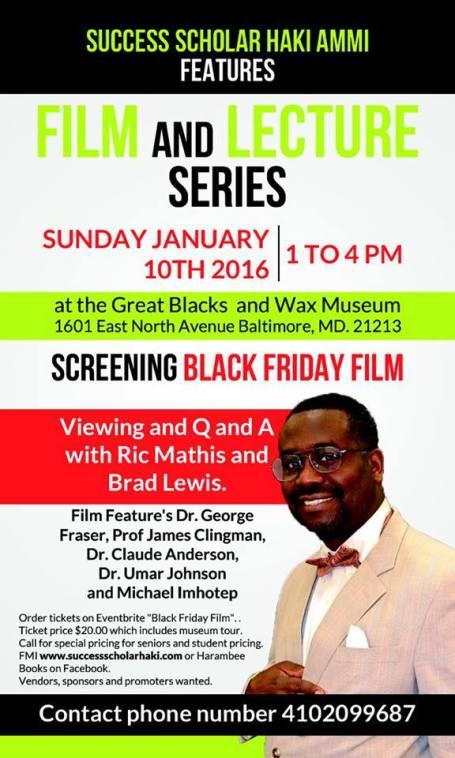 Black Friday Screening - Baltimore - 1-10-15