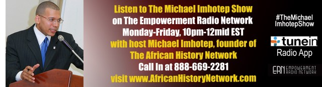 Michael Imhotep Show - Michael Imhotep - ERN - 9-17-15 Banner V1