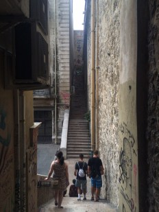 Wandering the alleys of Marseille
