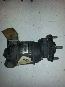 4B - Fuel Pump Motor - Chandler Evans Corp./Black and Decker electric company (1/8 hp)