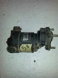 5B - Fuel Pump Motor - Chandler Evans Corp./Black and Decker electric company (1/8 hp)