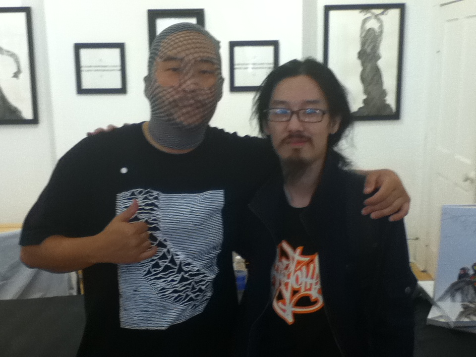 The Microscopic Giant » Two Sundays with David Choe ... Patricia Ja Lee David Choe
