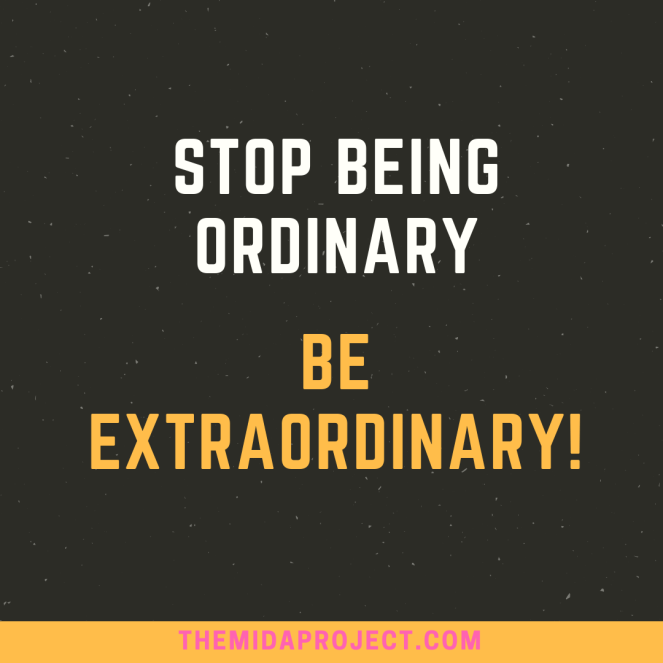 Ordinary and Extraordinary