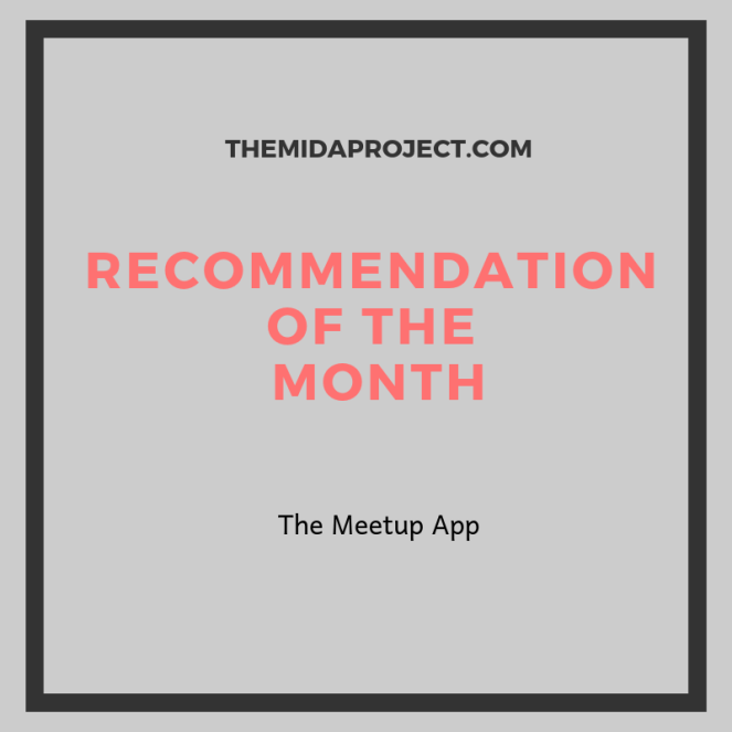 Copy of Recommendation of the month Template