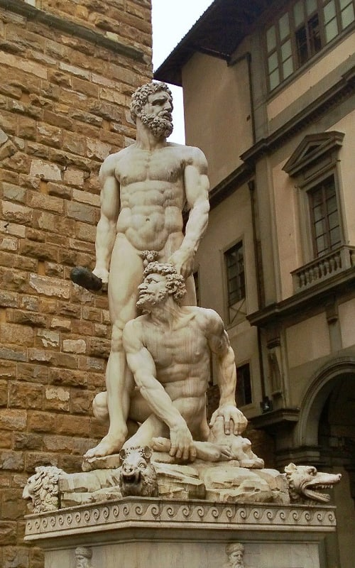 Hercules and Cacus (1533)