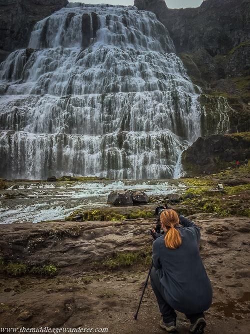 Visiting Westfjords Stunning Dynjandi Waterfall