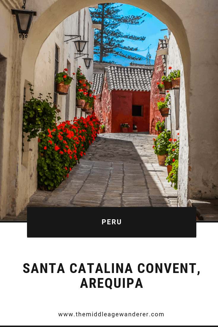 Santa Catalina Convent, Arequipa
