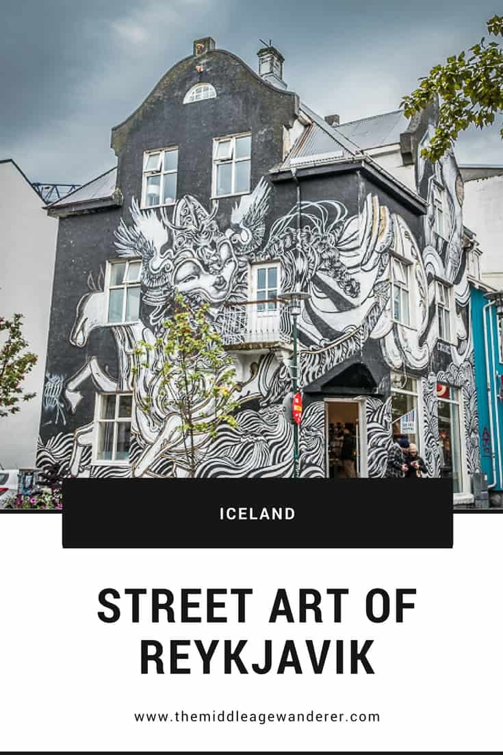 Street Art of Reykjavik  From great cafes to its night life and to its street art, Reykjavik has a quirkiness and uniqueness that is not seen in other national capital cities.  #travel #streetart #Iceland #Reykjavik