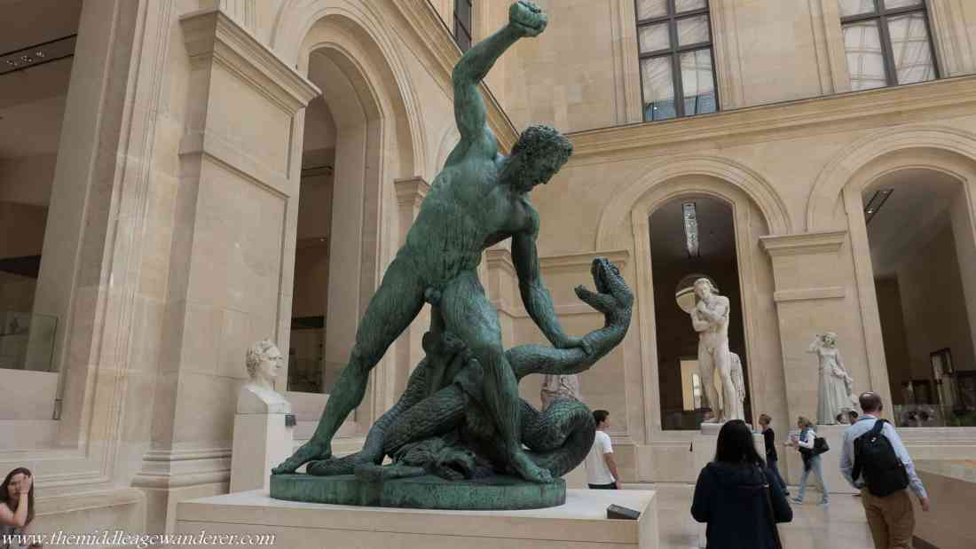 Male Statues & Their Appendages - Paris