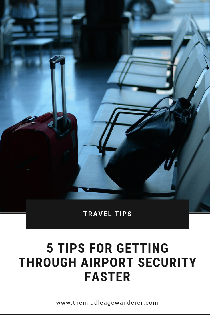 5 Tips to Get Through Airport Security Faster.
