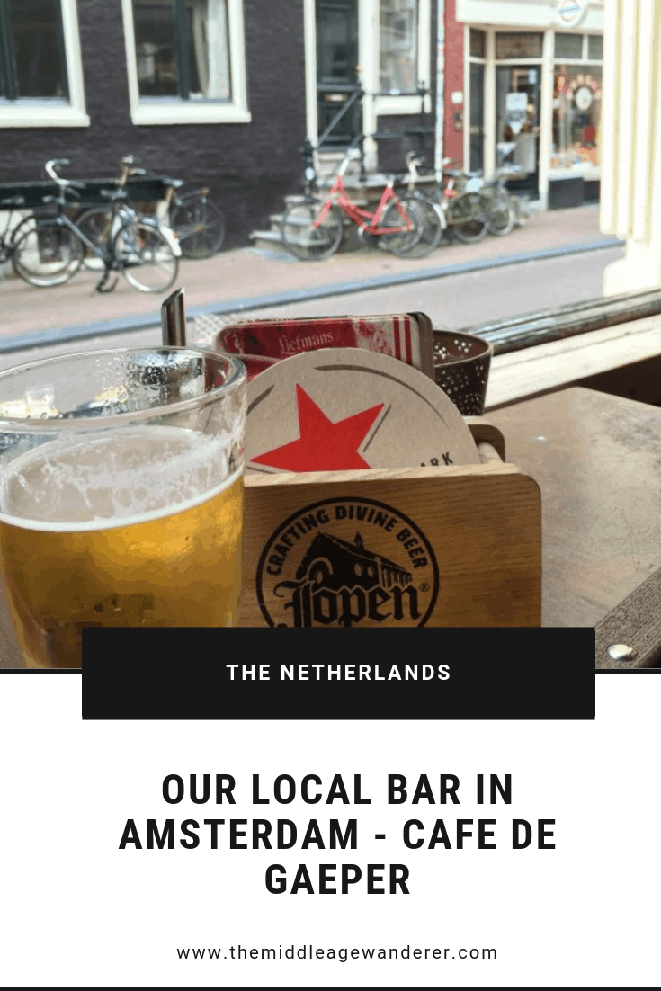 Our Local Bar in Amsterdam - Cafe De Gaeper