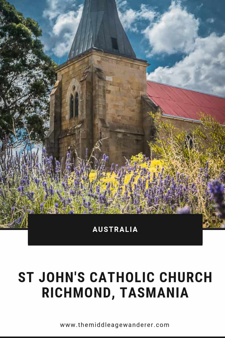 St John\'s Catholic Church, Richmond, Tasmania
