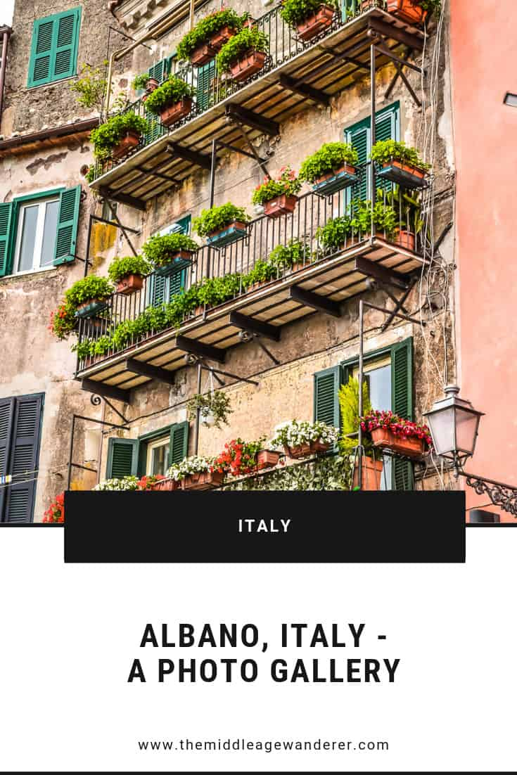 Albano, Italy - A Photo Gallery  Albano is a beautiful town and great place to spend time wandering the streets, exploring and sampling the food from the local shops.  #travel #Albano #Italy #wanderlust