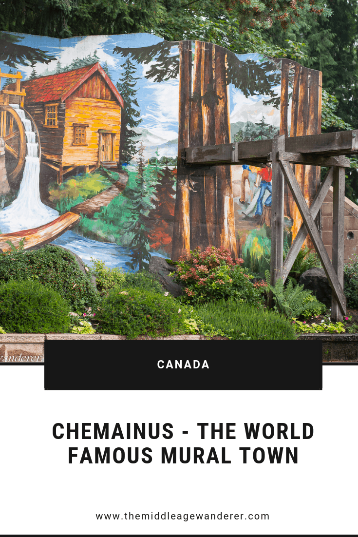 Chemainus - World famous mural town