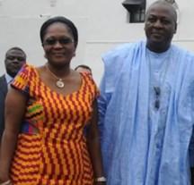 President John and Lordina Mahama