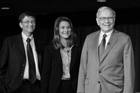 Bill Gates and Warren Buffet - Social Entrepreneurship