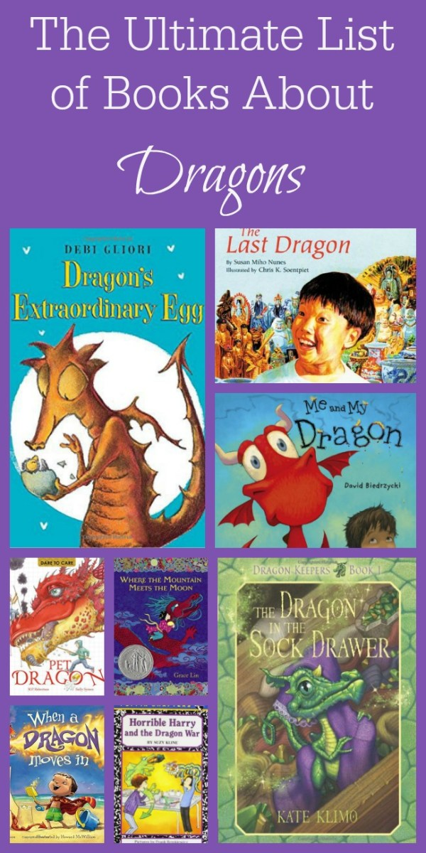 The Ultimate List of Books About Dragons