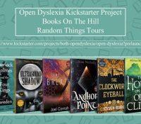 Books on the Hill Open Dyslexia Kickstarter  Project @booksonthehill @annecater