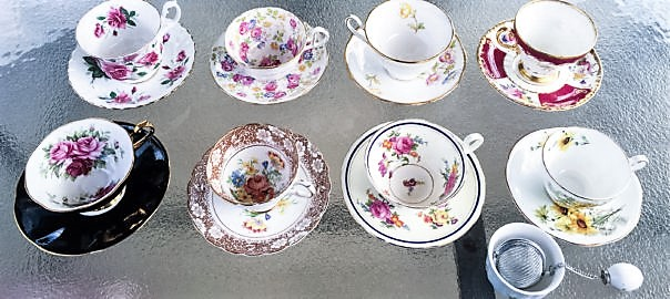 Vintage Teacups, For the Win!