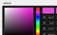 With the live color picker, you don