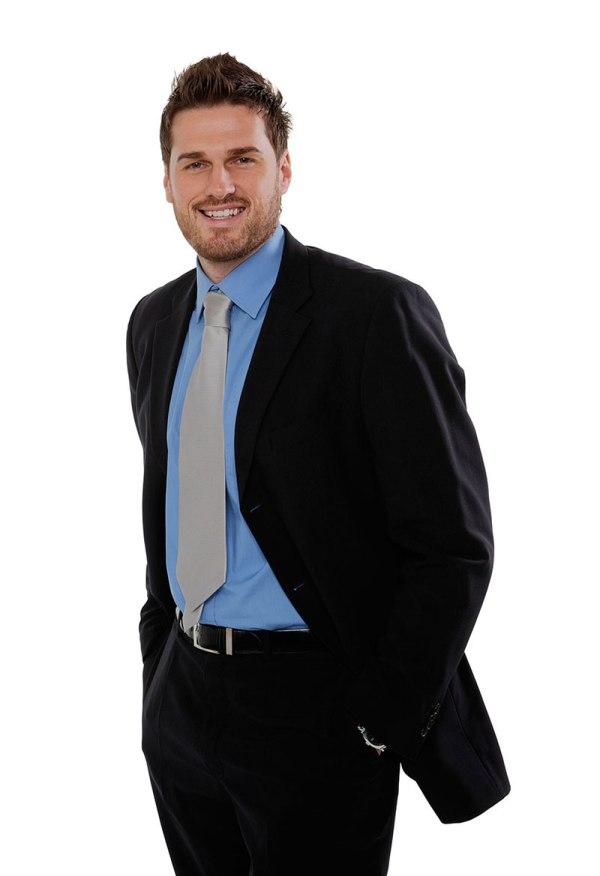 Man in black suit - Pinshop