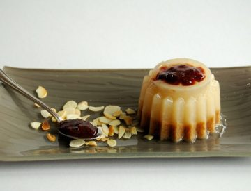 Vanila Almond Desert Pudding