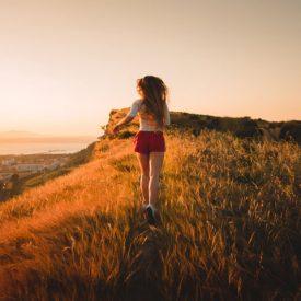 Running Across Nature