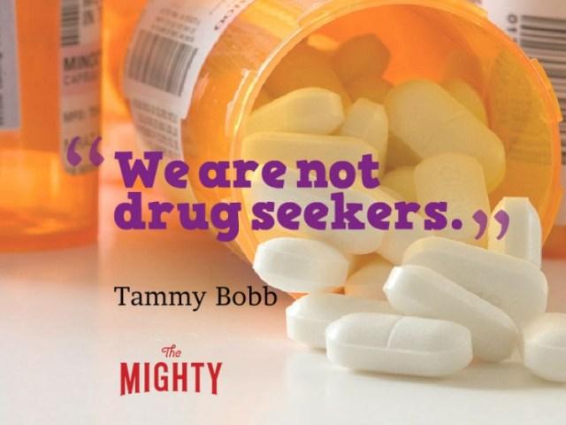 fibromyalgia meme: we are not drug seekers