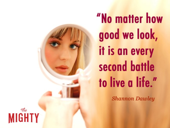fibromyalgia meme: no matter how good we look, it is an every second battle to live a life