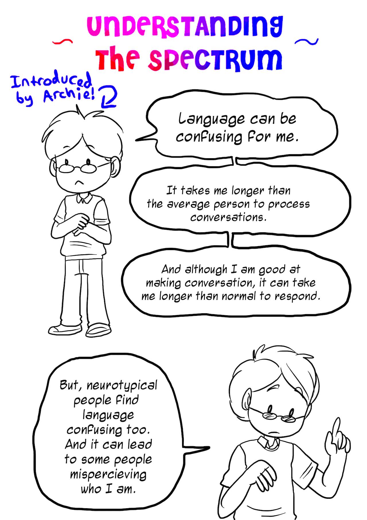 Rebecca Burgess Comic Redesigns The Autism Spectrum