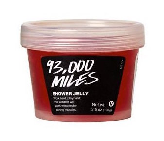 lush 93,000 miles shower jelly
