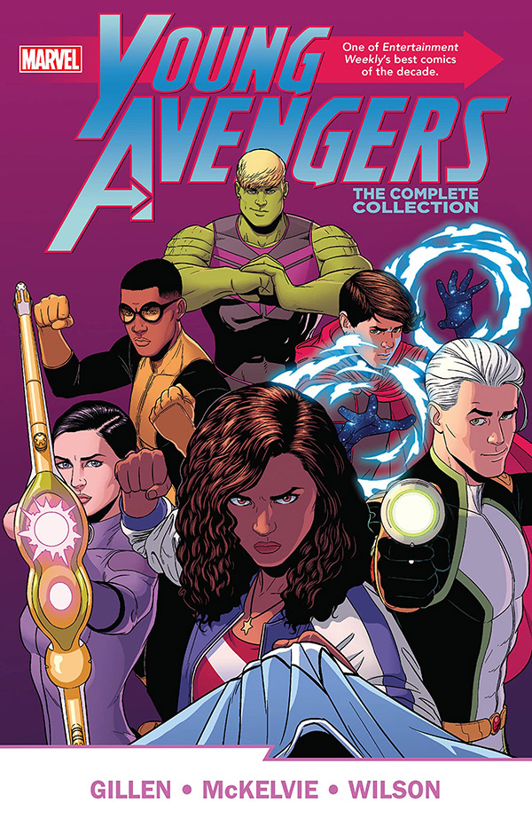 Illustration de Young Avengers