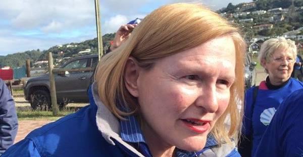 Helen Zille in Knysna