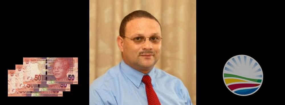 The Overpaid DA Municipal Manager, Johnny Douglas
