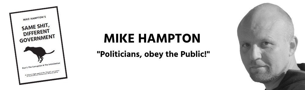 Mike Hampton anti-corruption same shit different government header.png